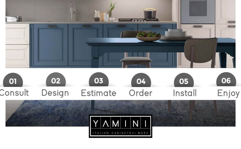 WE WILL GO ALONG WITH YOU DURING YOUR KITCHEN PROJECT.